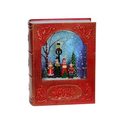 Red Book Carollers Scene Figure - Jouets LOL Toys