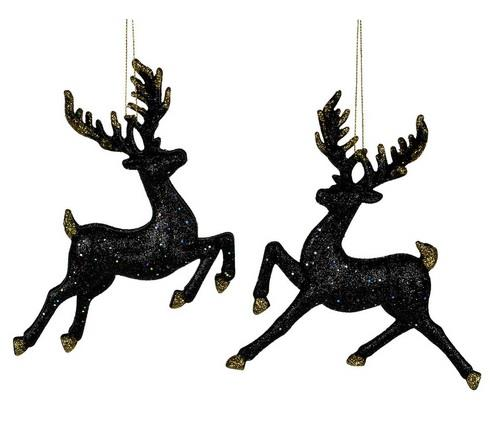 Deer Black & Gold Ornament - Jouets LOL Toys