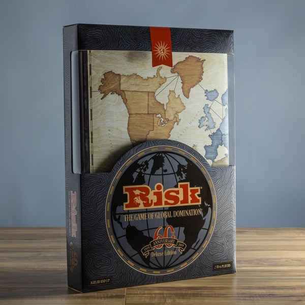 Risk 60th Anniversary Deluxe - Jouets LOL Toys