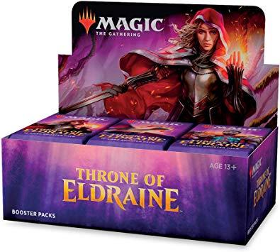 Magic The Gathering Throne of Eldraine Boosters - Jouets LOL Toys