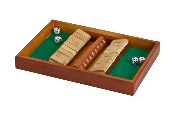 CHH Games Shut the Box Double Side 9