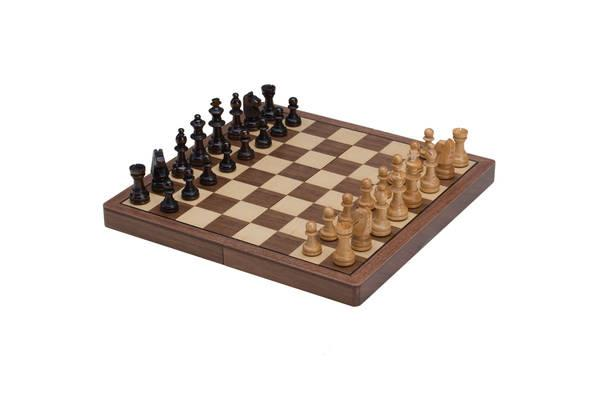 CHH Games Magnetic Wooden Chess Set - Jouets LOL Toys