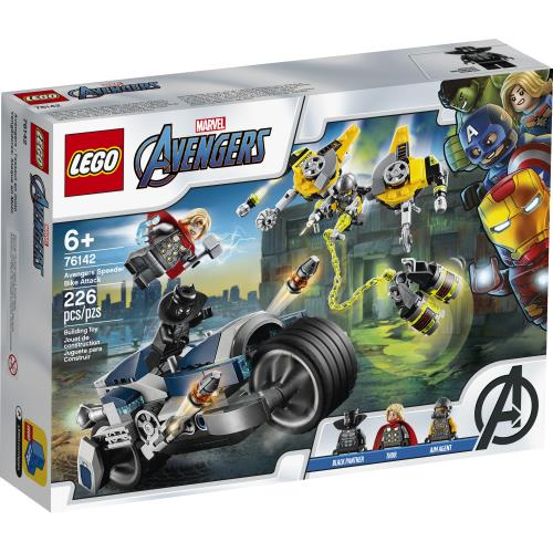 Lego Disney Marvel Avengers Speed Bike Attack - 76142 - Jouets LOL Toys