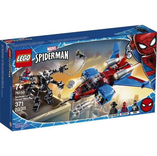 Lego Disney Marvel Spiderman Spiderjet Vs. Venom Mech - Jouets LOL Toys