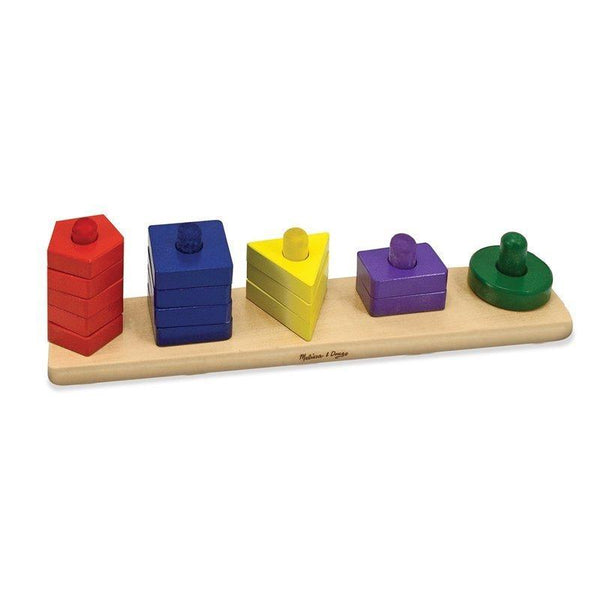 Melissa & Doug Stack and Sort Board - Jouets LOL Toys