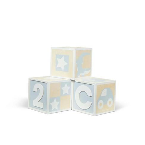 Melissa & Doug Jumbo Wooden ABC-123 Blocks (Neutral) - Jouets LOL Toys