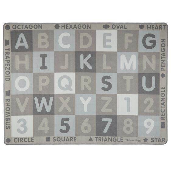Melissa & Doug Carpet ABC-123 (Neutral) - Jouets LOL Toys
