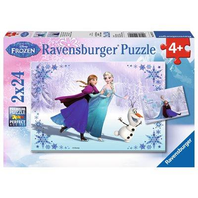 Disney Frozen Ravensburger Puzzle Sisters Always - Jouets LOL Toys
