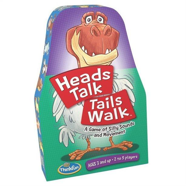 Thinkfun Heads Talk Tails Walk - Jouets LOL Toys