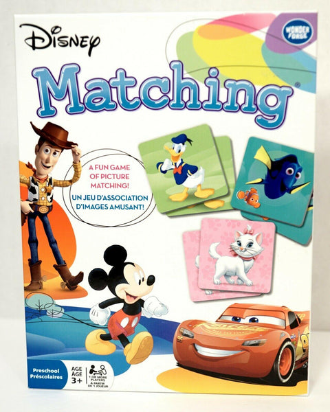 Disney Matching Memory Game - Jouets LOL Toys