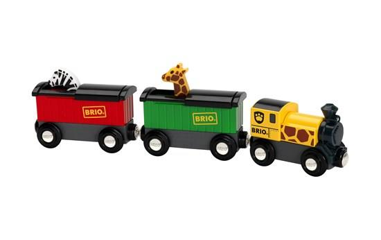 Brio Safari Train - 33722 - Jouets LOL Toys