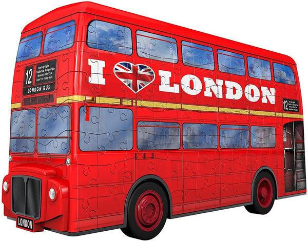 Ravensburger 3D Puzzle London Bus (216pcs)