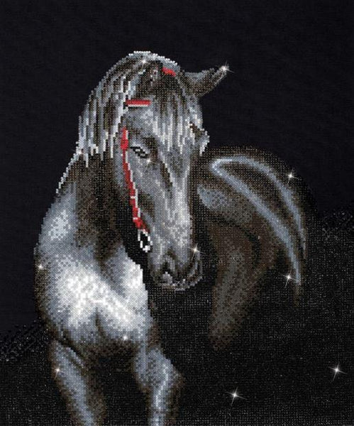 Diamond Dotz Poster Midnight Stallion - Jouets LOL Toys