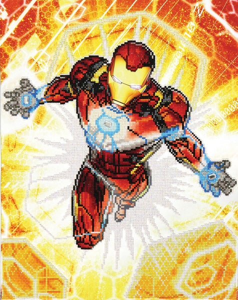 Disney Marvel Diamond Dotz Iron Man Blast Off - Jouets LOL Toys