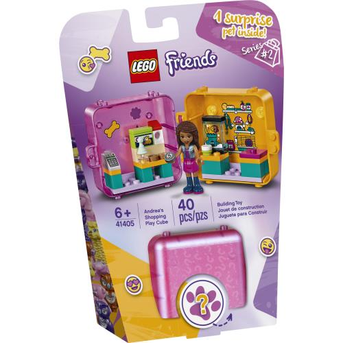 Lego Friends Andrea's Shopping Play Cube (Series 2) - 41405 - Jouets LOL Toys