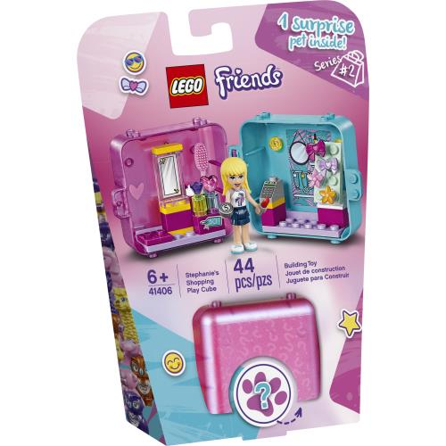 Lego Friends Stephanie's Shopping Play Cube (Series 2) - 41406 - Jouets LOL Toys
