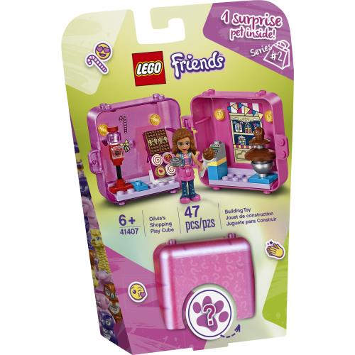 Lego Friends Olivia's Shopping Play Cube (Series 2) - 41407- Jouets LOL Toys