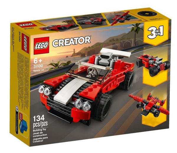 Lego Creator Red Sports Car - 31100 - Jouets LOL Toys