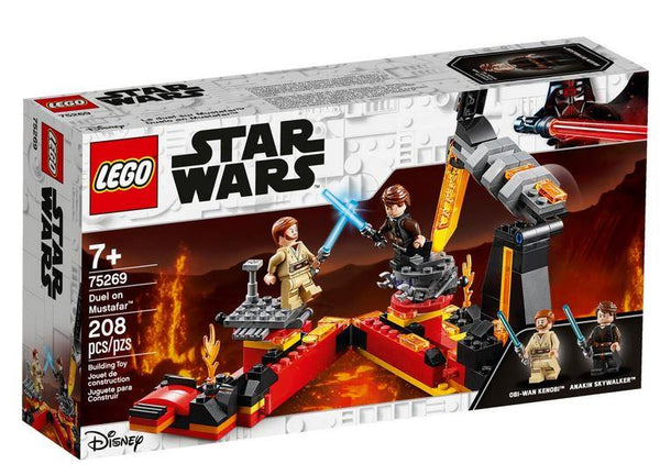 Lego Disney Star Wars Duel on Mustafar - 75269 - Jouets LOL Toys