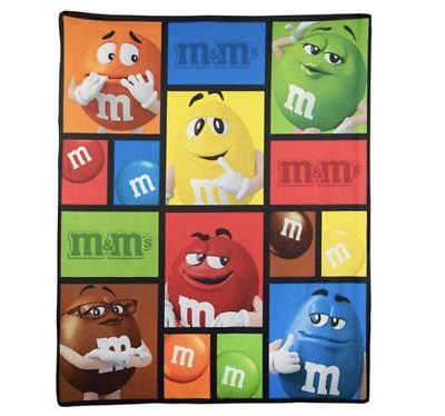 M&M Blanket Character Squares - Jouets LOL Toys