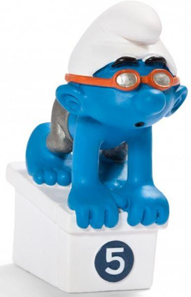 Smurfs Schleigh Figurine Olympic Swimmer - Jouets LOL Toys