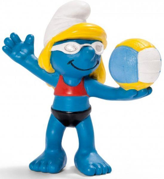 Smurfs Schleigh Figure Olympic Beach Volleyball - Jouets LOL Toys
