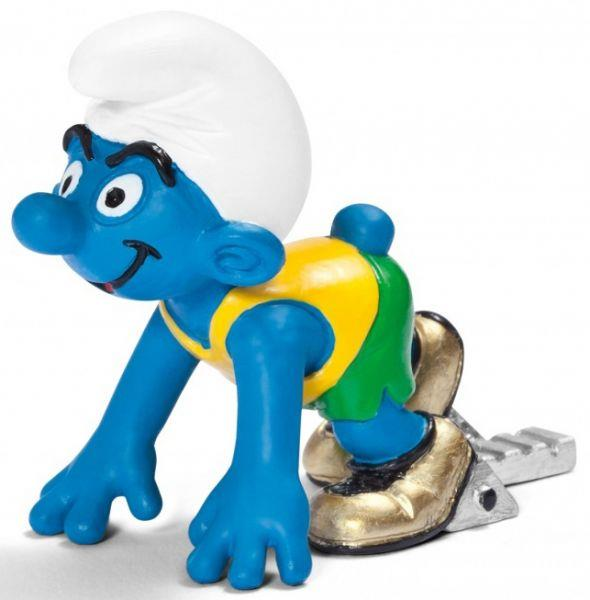 Smurfs Schleigh Figure Olympic Sprinter - Jouets LOL Toys