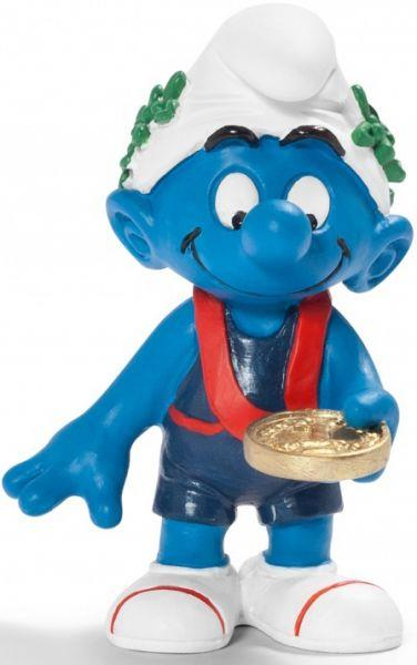 Smurfs Schleigh Figure Olympic Medal Winner - Jouets LOL Toys