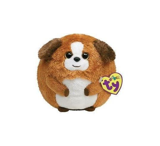 TY Beanie Ballz Dog - Bandit (Med) - Jouets LOL Toys