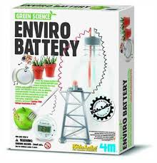 4M Enviro Battery Green (Eng) - Jouets LOL Toys