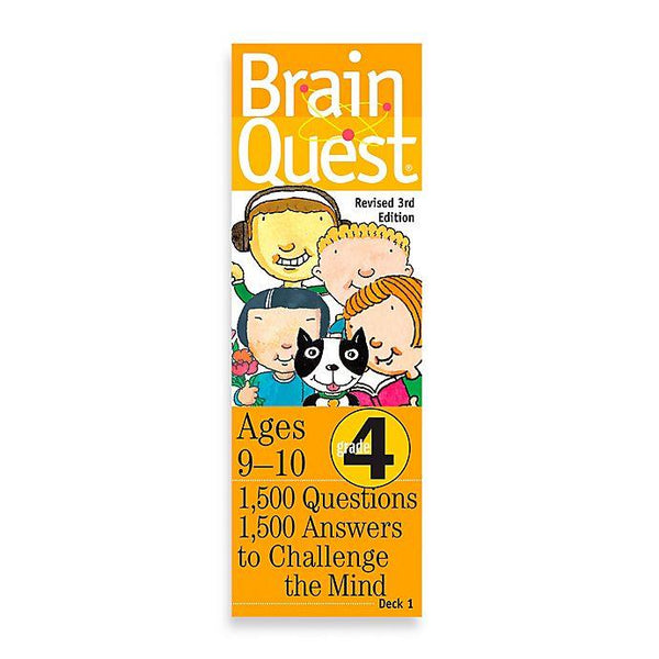 Brain Quest 4th Grade - Jouets LOL Toys