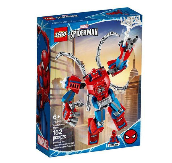 Lego Disney Marvel Spider-Man Mech - 76146 - Jouets LOL Toys