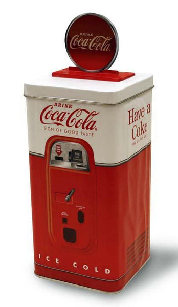 Coca-Cola Bank Vending Machine (Open Top) - Jouets LOL Toys