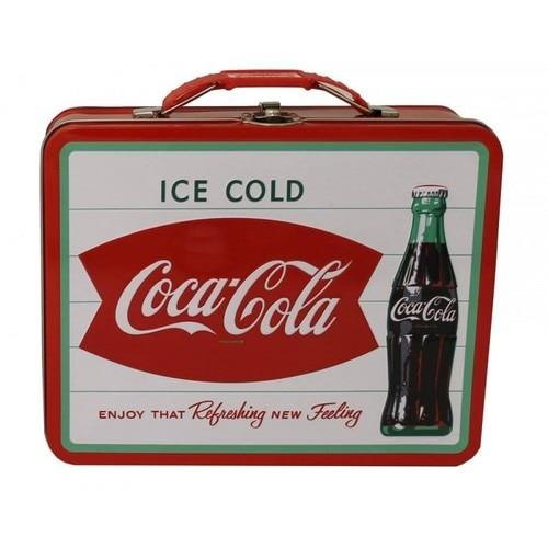 Coca-Cola Tin Lunch Box - Ice Cold - Jouets LOL Toys