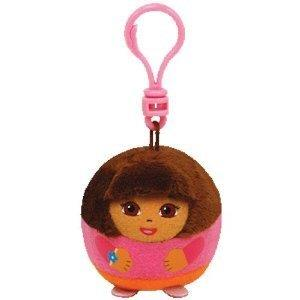 TY Beanie Ballz Nickelodeon - Dora Clip (XSmall) - Jouets LOL Toys