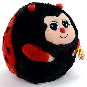 TY Beanie Ballz Ladybug - Dots (Med) - Jouets LOL Toys