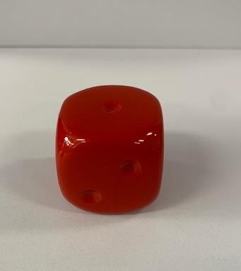 Chessex Dice Red (Large) - Jouets LOL Toys