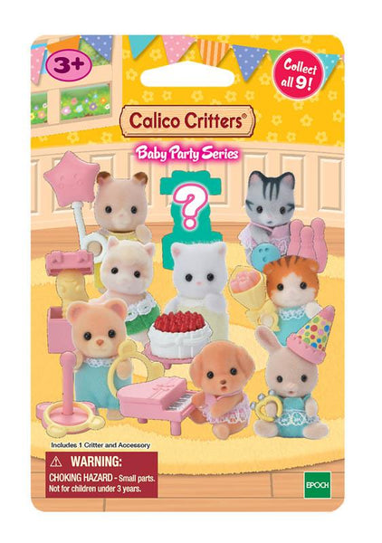 Calico Critters Baby Party Series Surprise Pack - Jouets LOL Toys