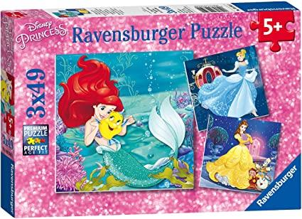 Disney Ravensburger Puzzle Princesses Adventures - Jouets LOL Toys