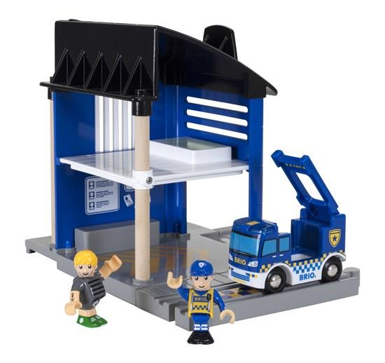Brio Police Station - 33813 - Jouets LOL Toys