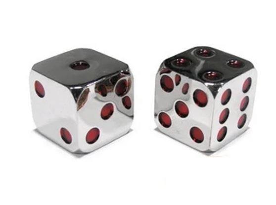 Metallic Dice 15mm (Red) - Jouets LOL Toys