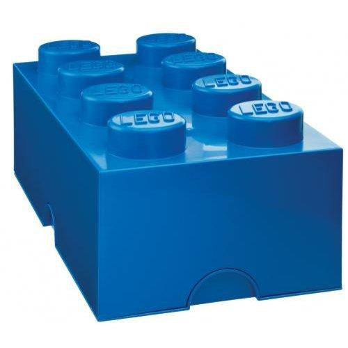 Lego Brick 8 Storage Blue - Jouets LOL Toys