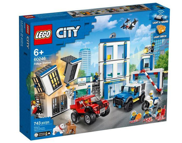 Lego City Police Station - 60246 - Jouets LOL Toys