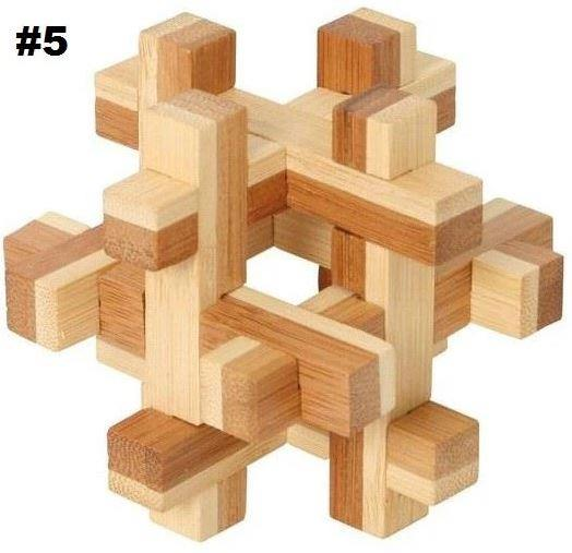Bamboo Puzzle Cross Roads (4 Stars Difficulty) - Jouets LOL Toys