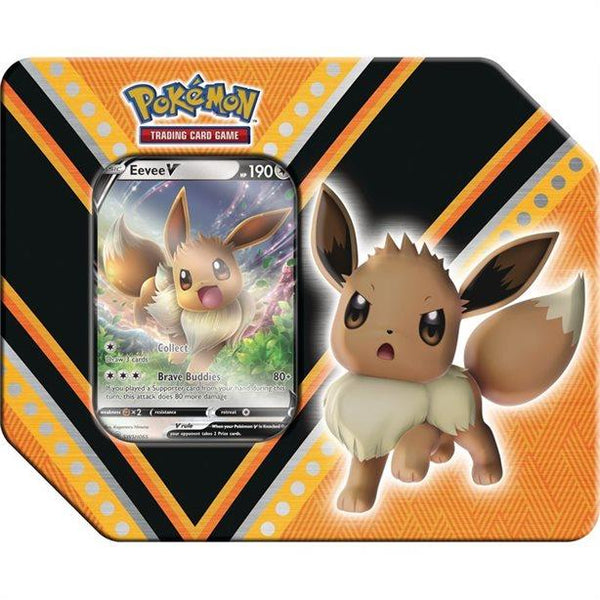 Pokemon Tin V Powers - Eevee - Jouets LOL Toys