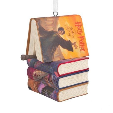 Harry Potter Ornament Books and Wand - Jouets LOL Toys