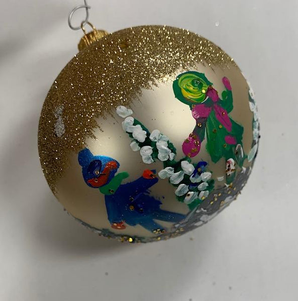 Ornament by Katerina Mertikas - Children and Trees - Jouets LOL Toys