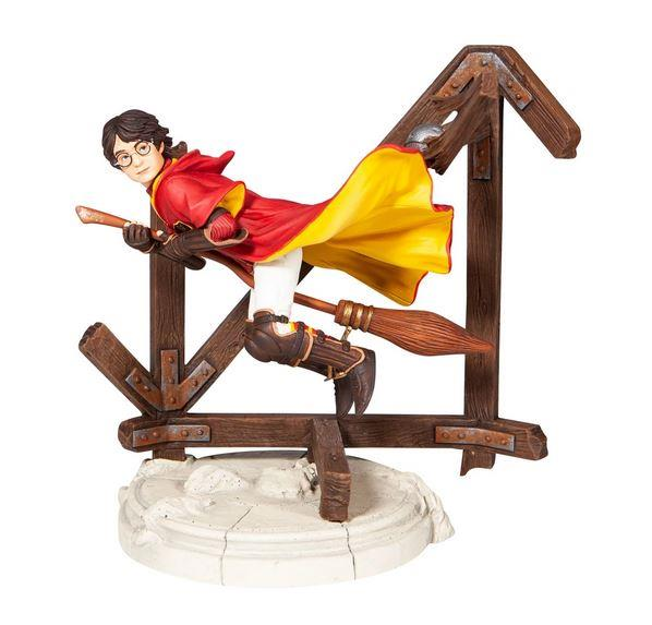 Harry Potter on Broomstick Quidditch Figurine - Jouets LOL Toys