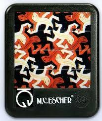 M.C. Escher Sliding Puzzles (Abstract People) - Jouets LOL Toys