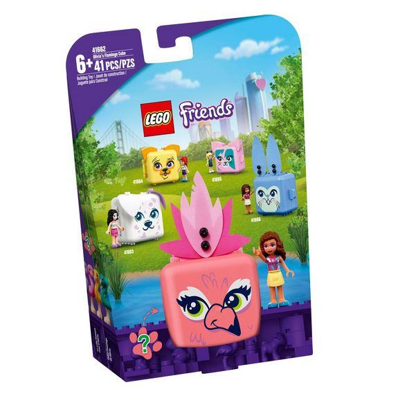 Lego Friends Olivia's Flamingo Cube - Jouets LOL Toys
